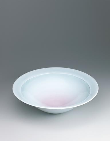 写真:青白磁紅彩大鉢