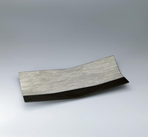 写真:塩釉長方皿