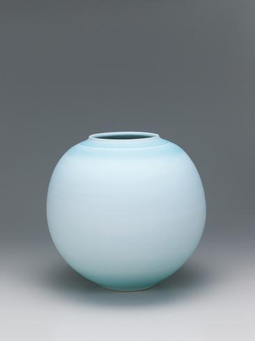 写真:夢青磁花瓶