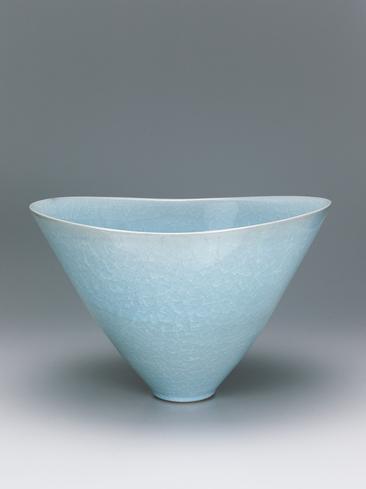 写真:貫入鉢