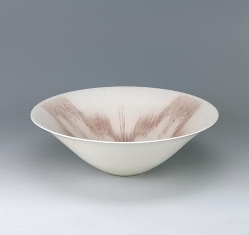写真:彩泥象嵌マット釉鉢