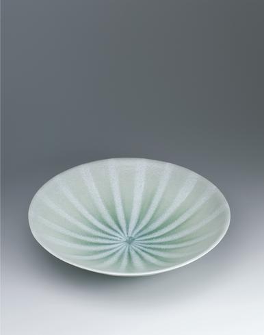 写真:灰釉鉢