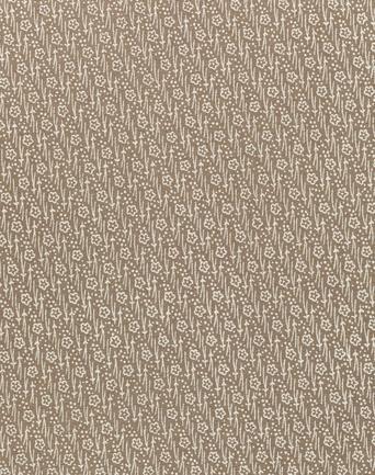 小紋着尺「松葉に小花」