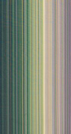 写真:小倉縞木綿帯「光河」