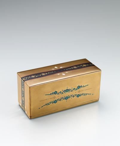 蒔絵玳瑁宝石箱「久遠」