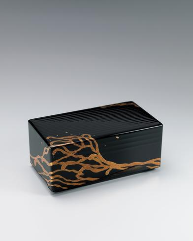 流々蒔絵箱