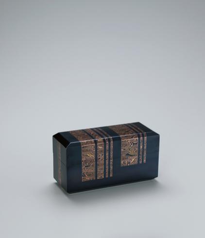 金銀銅杢目金飾箱「深海陽」