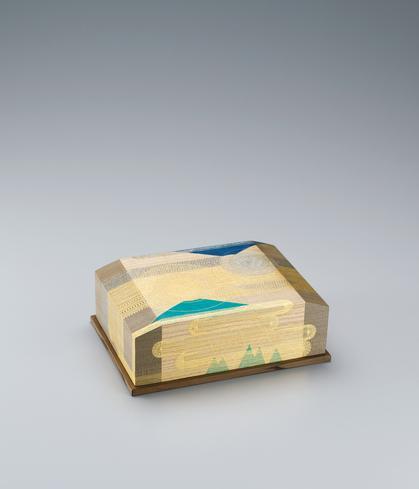 写真:截金飾箱「天空の詩」