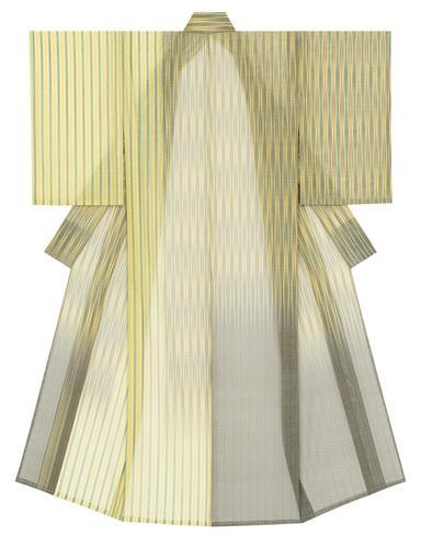 紋紗着物「竹風漏月」