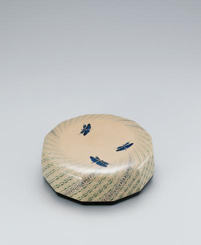 籃胎蒟醬十二角食籠「蝶蜻蛉」