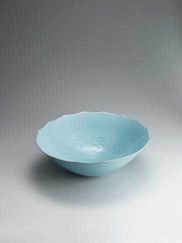 写真:青瓷聯星文鉢