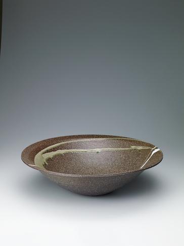 写真:灰釉大鉢