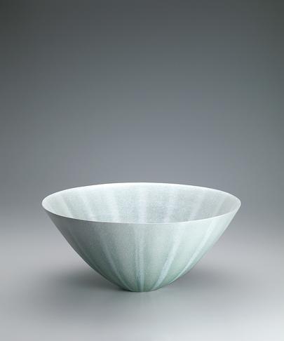 写真:灰釉彩鉢