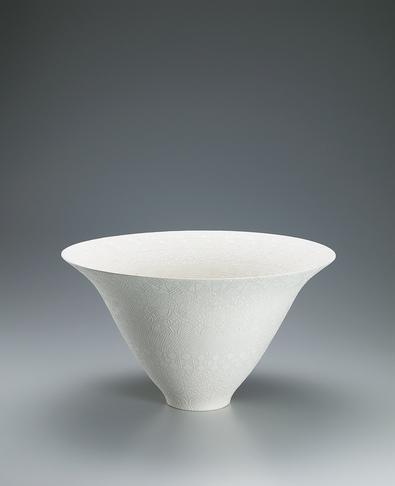 写真:剪紙段替り文鉢