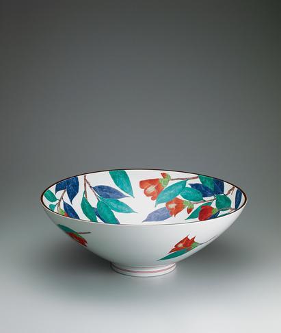 写真:濁手椿文鉢