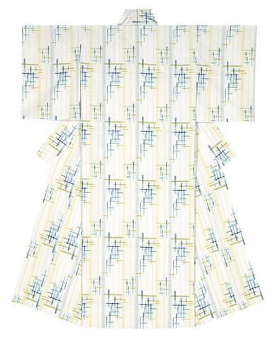 写真:紬織着物「立夏」
