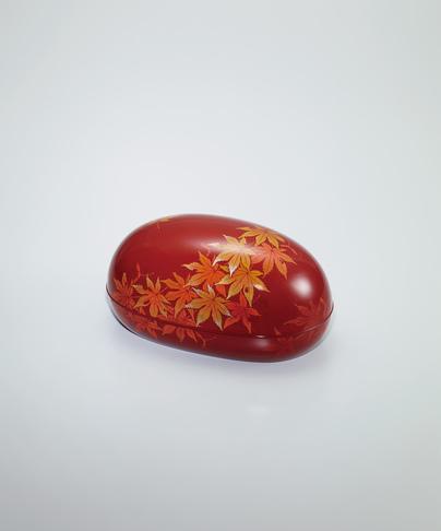 写真:乾漆蒟醬合子「秋麗」