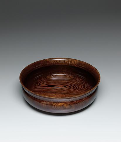 欅造拭漆盛鉢