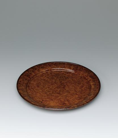 写真:花梨拭漆平鉢