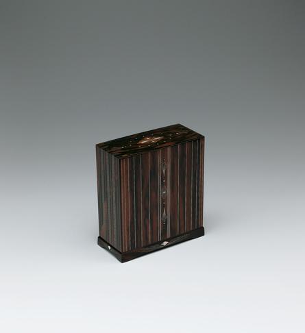 写真:黒柿有線寄木象嵌箱