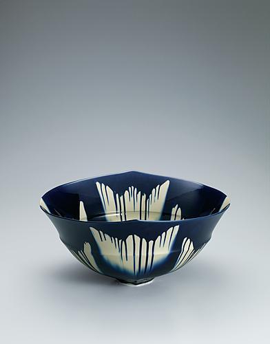 藍三彩「1507」