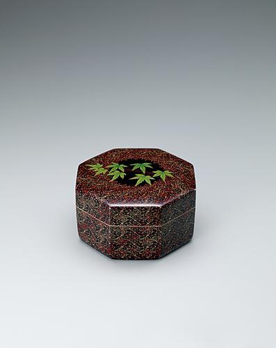 籃胎蒟醬八角箱「青葉錦」