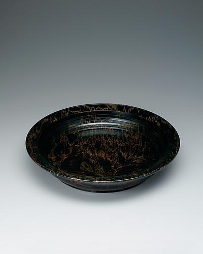 栃拭漆盛鉢