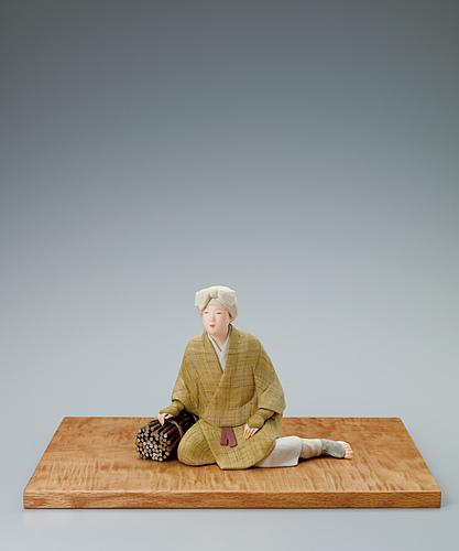 写真:木芯桐塑布紙貼「里山」