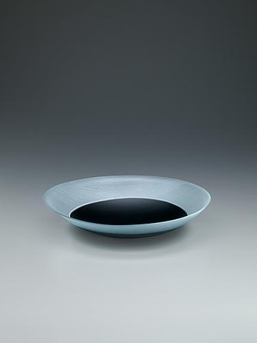 写真:硝子絹糸紋鉢