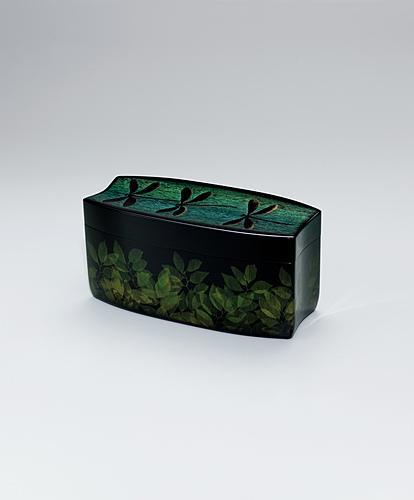 彩沈金飾箱「木漏れ日」
