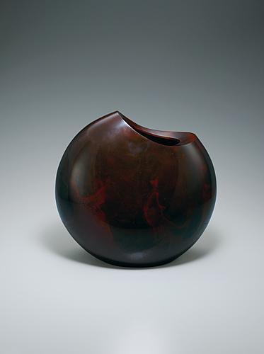 鋳銅花器「包」
