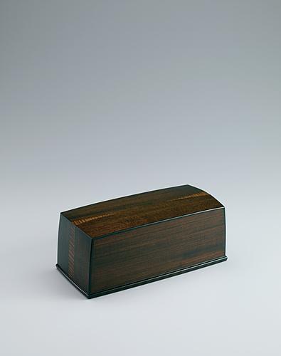 神代欅拭漆飾箱「湧」