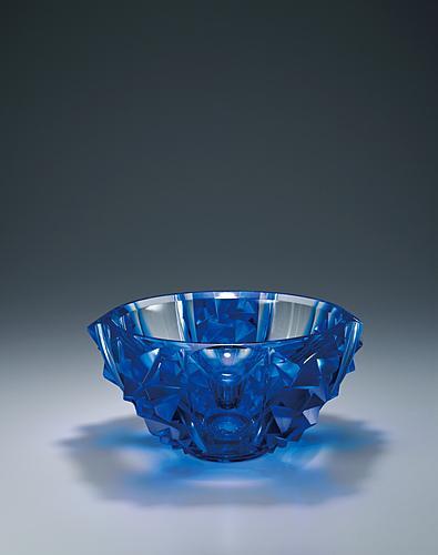 硝子鉢「CRYSTAL BLUE」