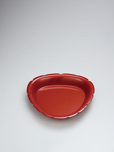 乾漆葉盤「ゼラニウム」