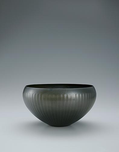朧銀菊文鉢
