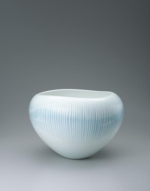 写真:艶釉彩深鉢「創」
