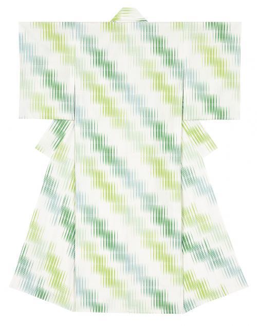 写真:紬織着物「玉苗」