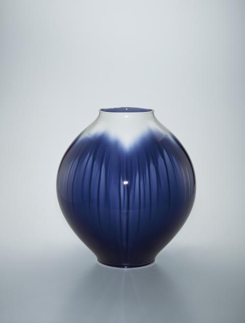 写真:彩釉壺「楼蘭」
