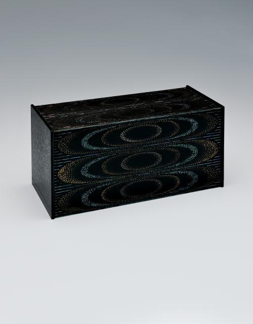 写真:紋紗塗箱「水波」
