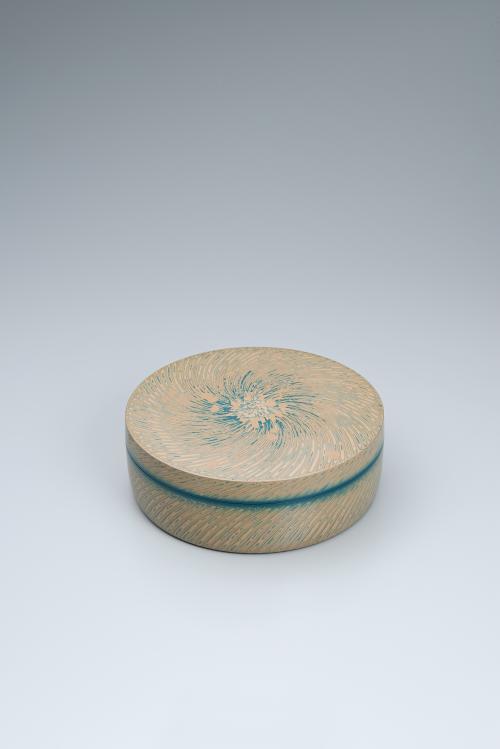 紙胎蒟醬風籟合子
