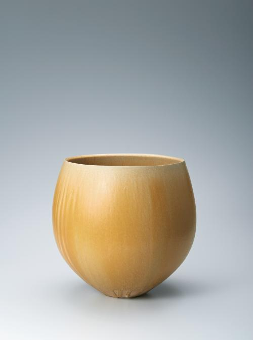 写真:黄瀬戸花器