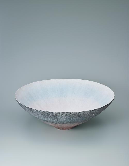彩泥線紋鉢