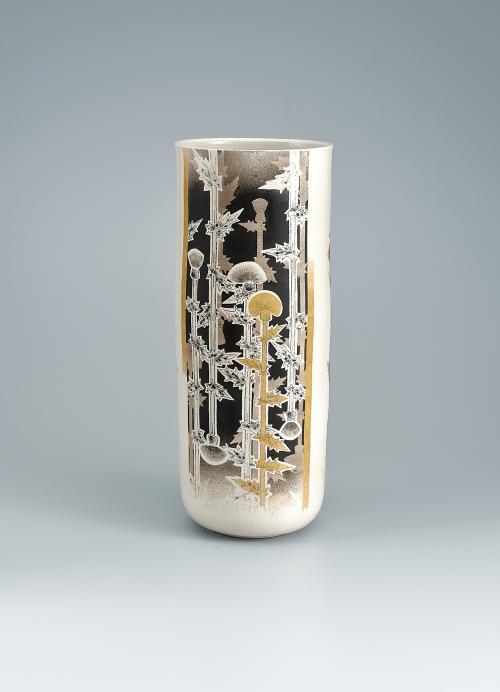 写真:白寿釉花器「追憶」