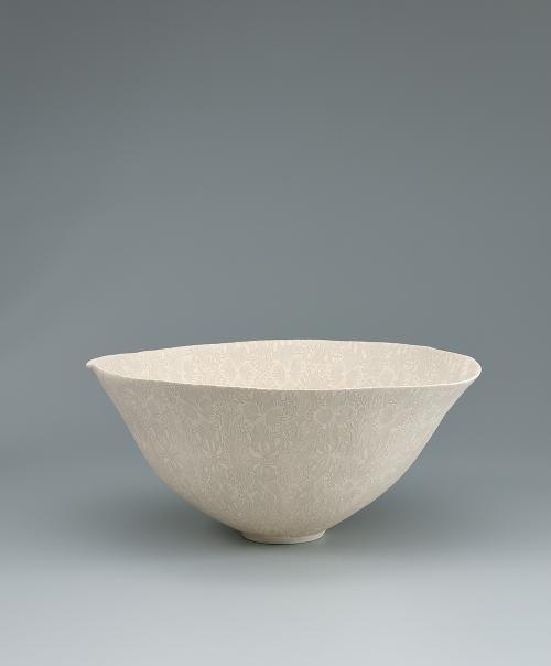 写真:陶磁更紗練上鉢