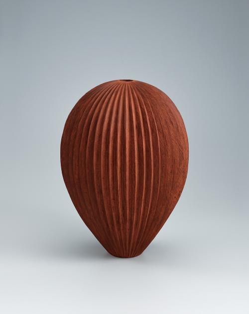 写真:岱赭瓷壺