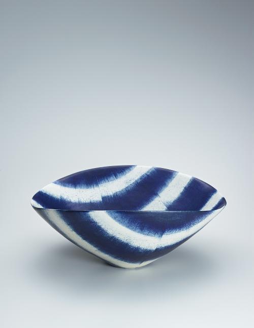 写真:呉須絵青文鉢