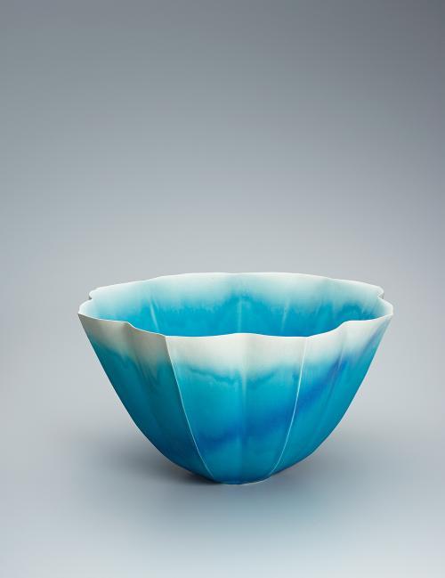 写真:青釉鉢