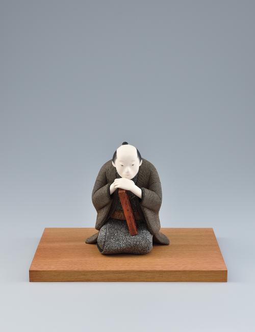 写真:木芯桐塑木目込「年の暮」