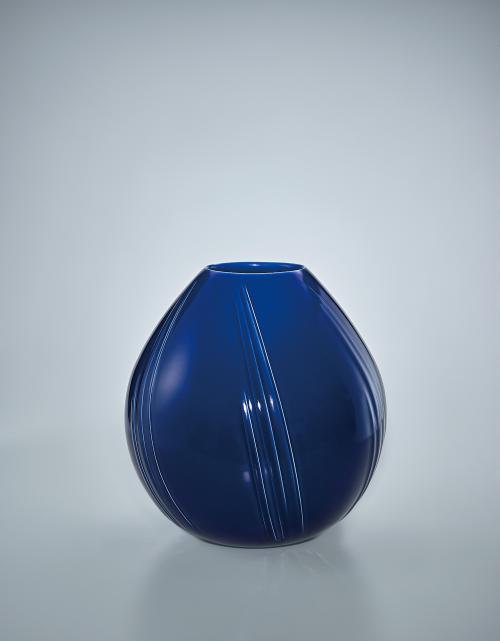 写真:瑠璃釉壺