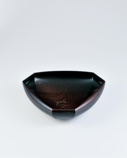 写真:欅拭漆鉢